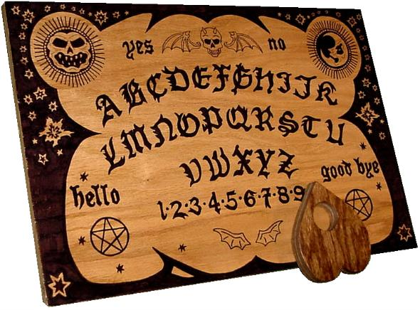 coming up at misterio press ~ how Ouija Boards work