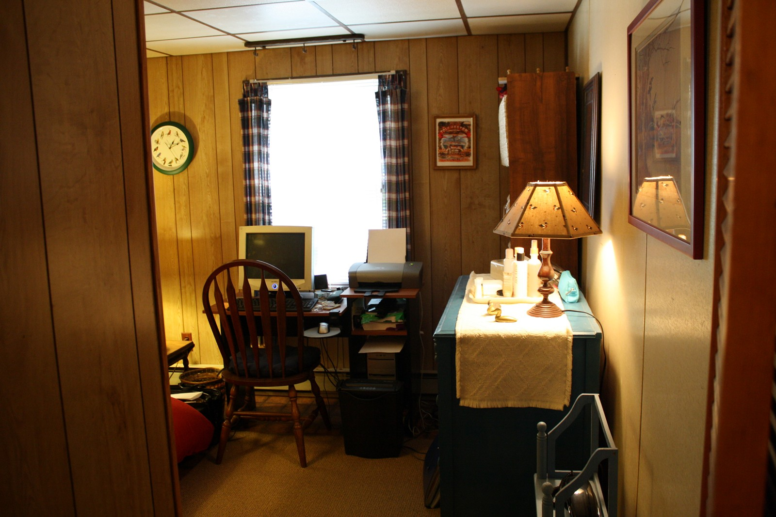 Kass's study at Maryland house