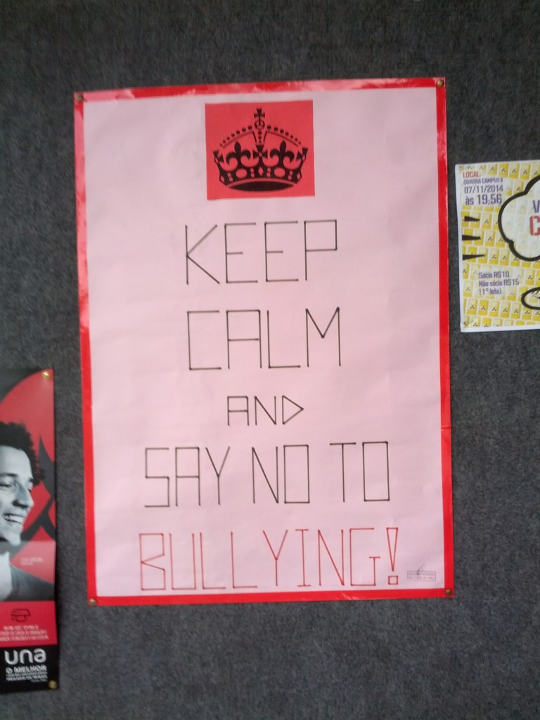 Say no to bullying (image by Andrevruas CC BY-SA 4.0 Wikimedia Commons)