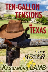 (KV3) Ten-Gallon Tensions in Texas, A Kate on Vacation Mystery, #3