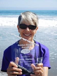 Vinnie golden donut award DSCN0524