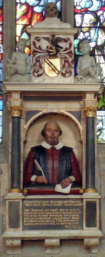 Shakespeare monument