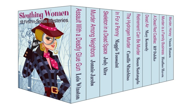 Sleuthing Women boxed set cover