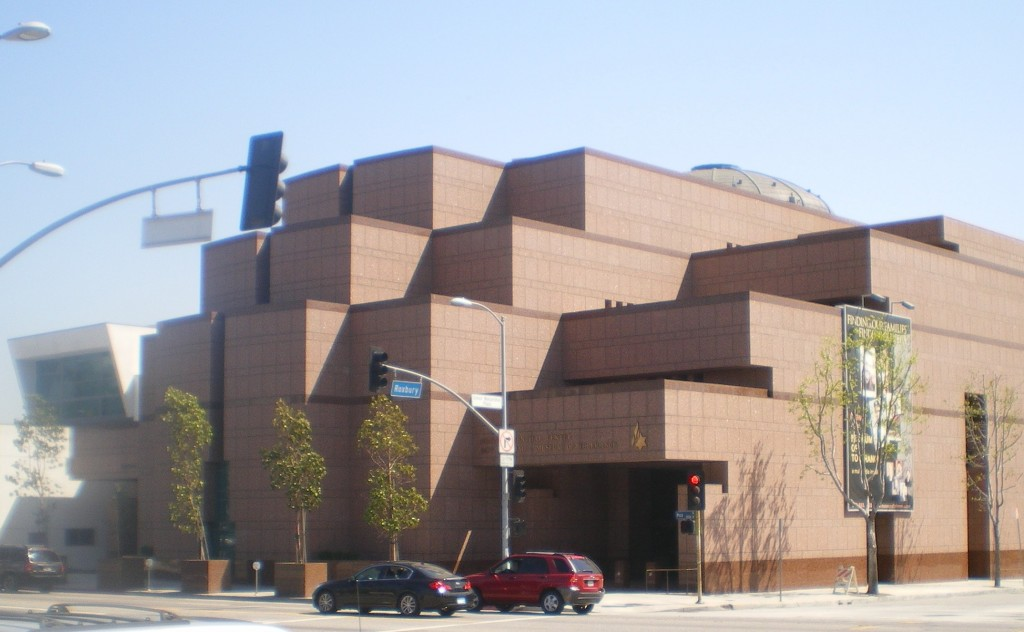 """We even have a Museum of Tolerance in Los Angeles: """"...designed to examine racism and prejudice around the world with a strong focus on the history of the Holocaust. """" -- Wikipedia (photo by Cbl62 at English Wikipedia CC BY-SA 3.0 via Wikimedia Commons)"""