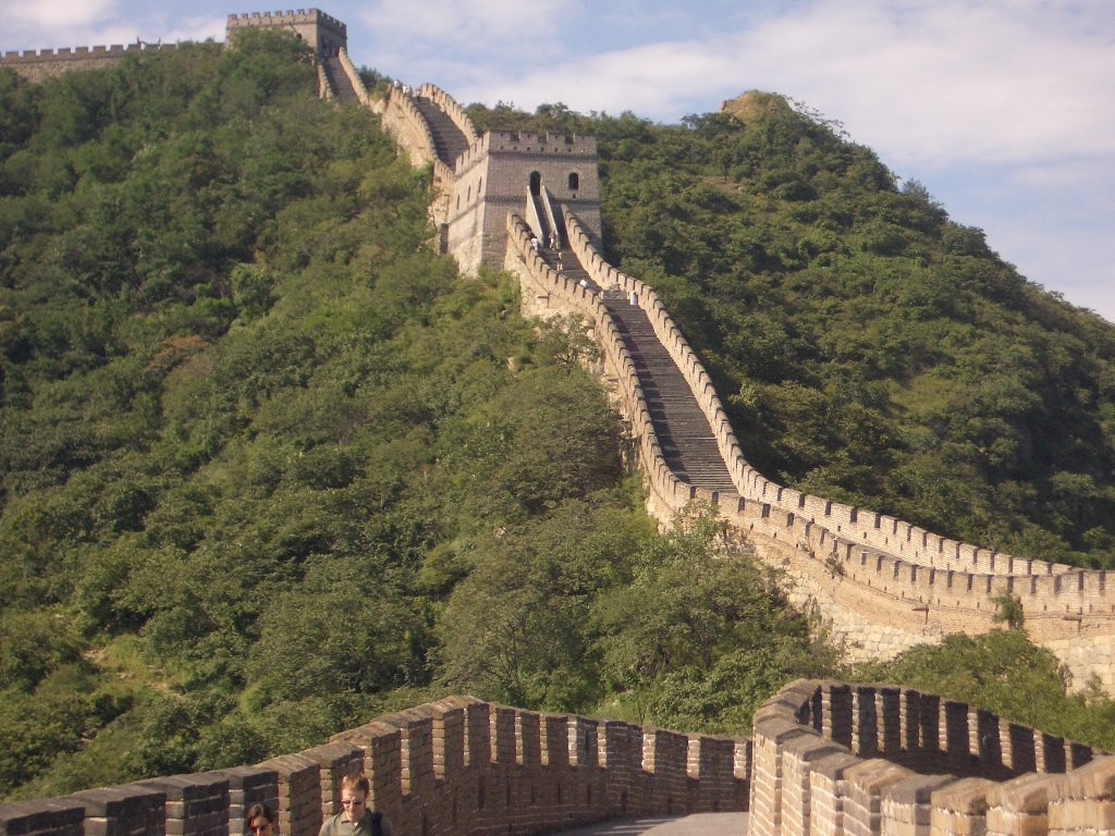 Great Wall of China (public domain)
