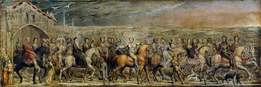 Blake's Canterbury Pilgrims