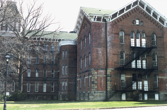 UO dormitory buildings