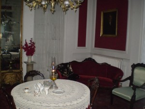 room of castle where ghost was spotted