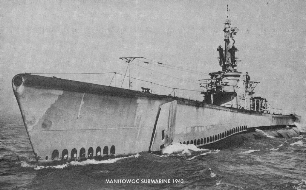 WW II era submarine
