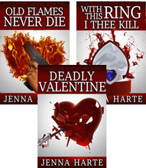 book covers from Valentines series