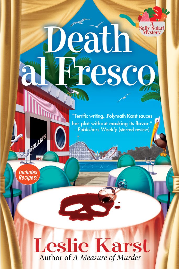 Death al Fresco book cover