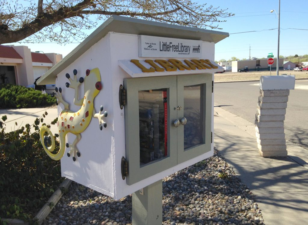 little free library in Albuquerque