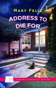 Mary Feliz 1st book cover