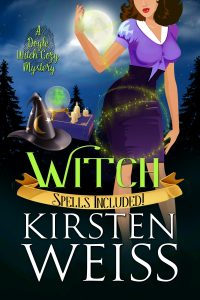 Witch book cover