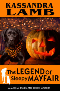 (MB&B6) The Legend of Sleepy Mayfair, A Marcia Banks and Buddy Mystery