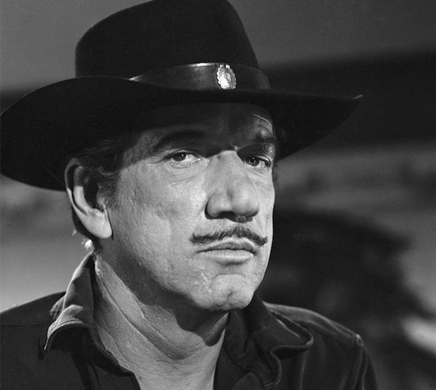 Richard Boone, my father's look-alike and the insiration for my mother's best ever DIY Halloween costumes.
