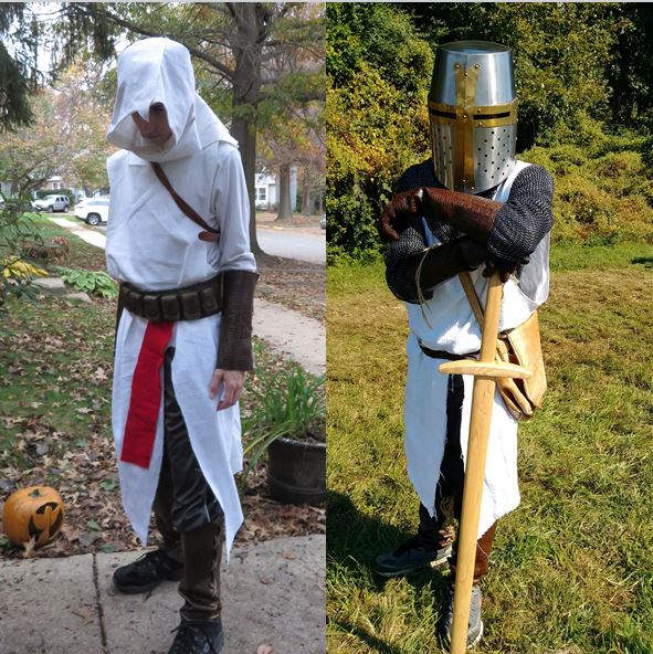 Two DIY Halloween costumes for the price of one.