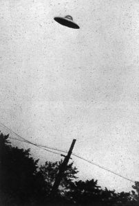 The truth about UFOs: photo of 1952 purported UFO sighting