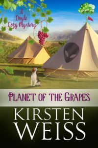 (AWE2) Planet of the Grapes, A Doyle Cozy Mystery (A Wits' End Mystery #2)