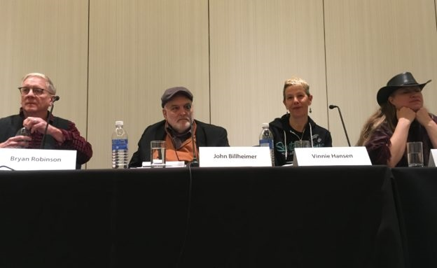 Setting As Character Panel at Left Coast Crime 2019