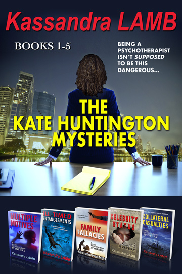 The Kate Huntington Mysteries Books 1-5