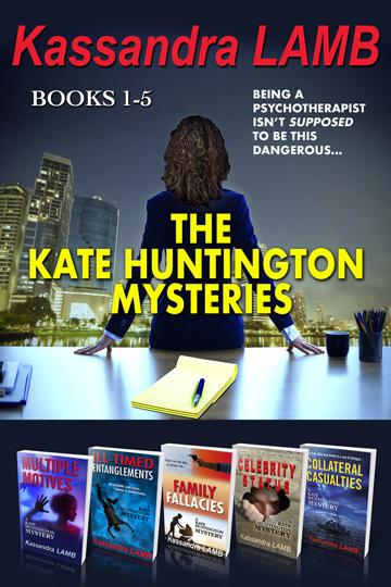The Kate Huntington Mysteries: Books 1-5