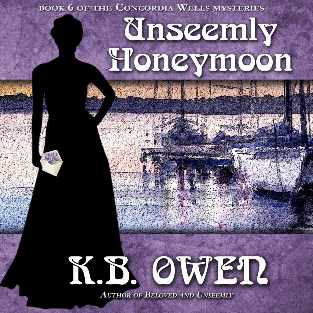Unseemly Honeymoon audio cover