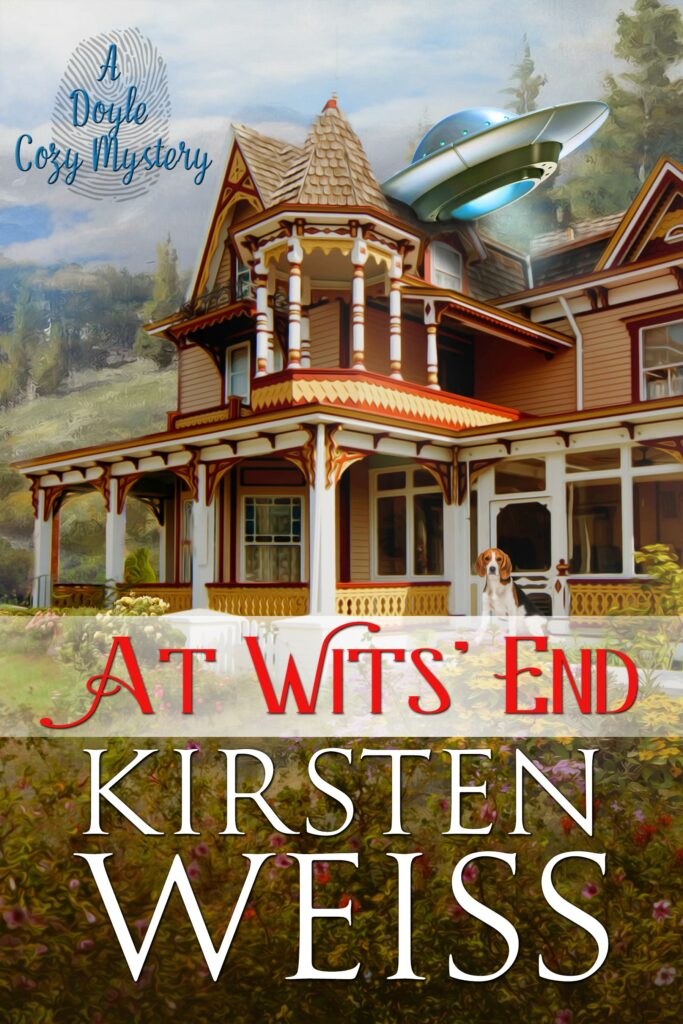 At Wits' End cover -- spin-off series from Doyle Witches