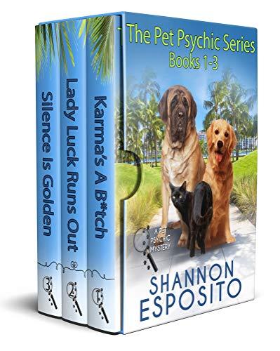 new book bundles ~ Pet Psychic mysteries