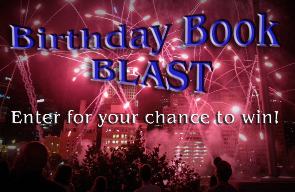 Birthday Book Blast banner