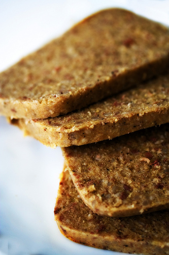 Scrapple (photo by Steamykitchen.com, CC-BY 3.0, Wikimedia Commons)