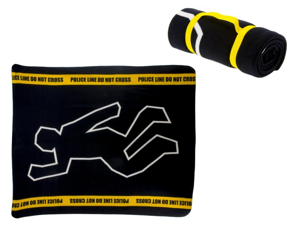 crime scene throw