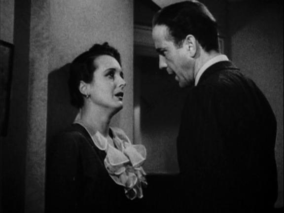 Confrontation at Concordia movie scenes Bogart and Astor confrontation scene