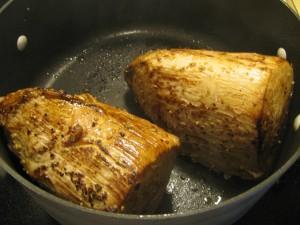 2 small roasts, seared