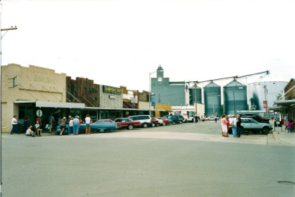 downtown Philip, SD