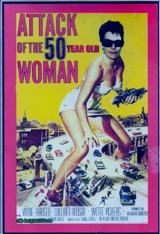 Attack of the 50-yr-old Woman poster