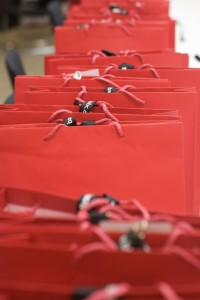 Tips for Making Your Imperfect Holiday a Happy One -- gift bags!